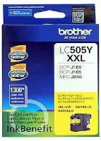 CARTUCHO DE TINTA BROTHER LC505Y YELLOW UNIDAD